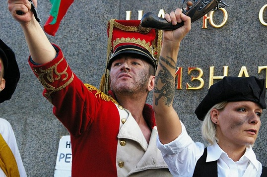 Интервю за протестите с Теодор Михайлов